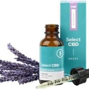 Lavender CBD Drops - 1000mg CBD
