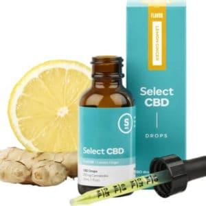 Lemon CBD Drops - 1000mg CBD
