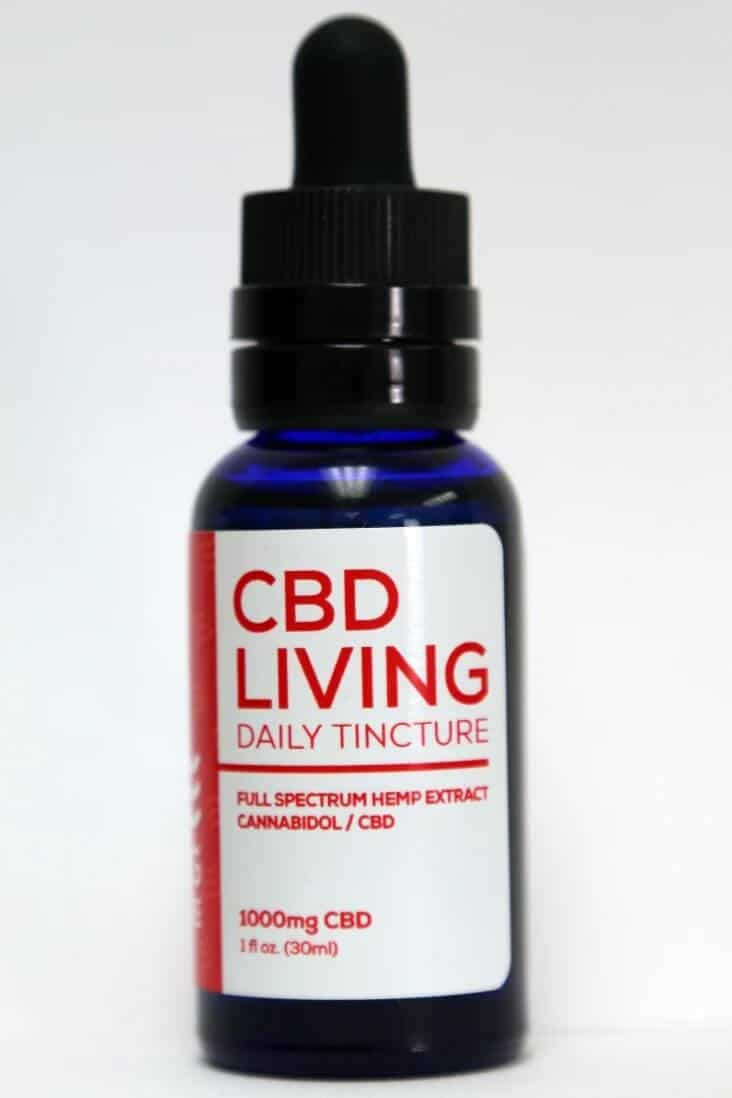 CBD Living 1000 MG Broad Spectrum CBD Oil