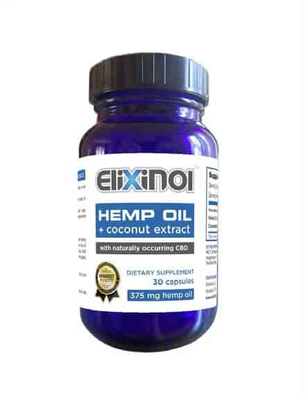 CBD Oil Capsules 450MG of CBD