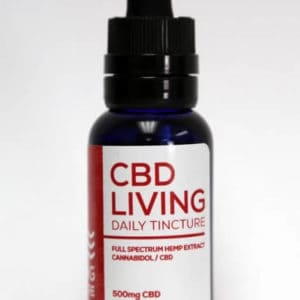 CBD Living 500 MG Broad Spectrum CBD Oil