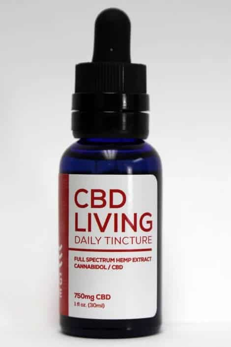 CBD Living 750 MG Broad Spectrum CBD Oil