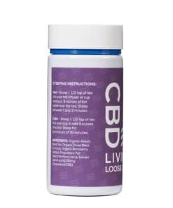 CBD Living Berry Black Tea 150 Mg