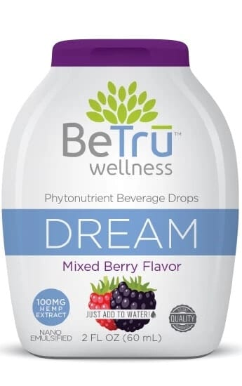 Be Trū Wellness DREAM Water Soluble Hemp CBD Beverage Drops