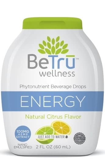 ENERGY Water Soluble Hemp CBD Beverage Drops