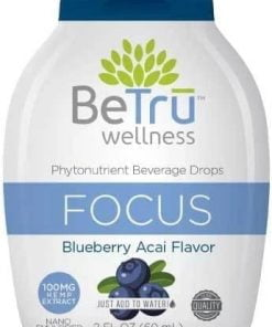Be Trū Wellness FOCUS Water Soluble Hemp CBD Beverage Drops