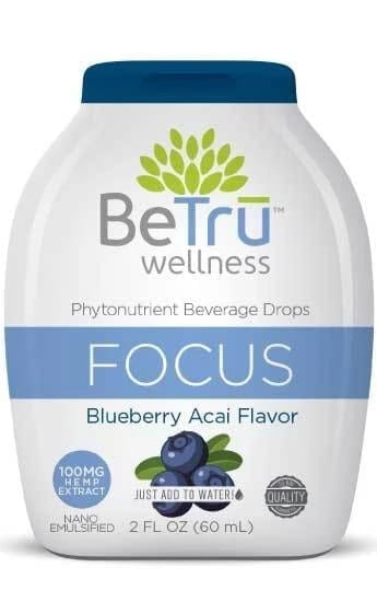 FOCUS Water Soluble Hemp CBD Beverage Drops
