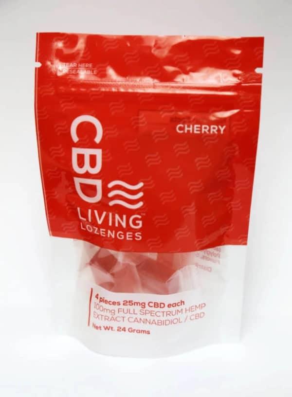 Cherry-Nano CBD Lozenges Full Spectrum