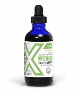 CBD Tincture – Hemp Oil Drops 3600mg CBD – Cinnamint Flavor