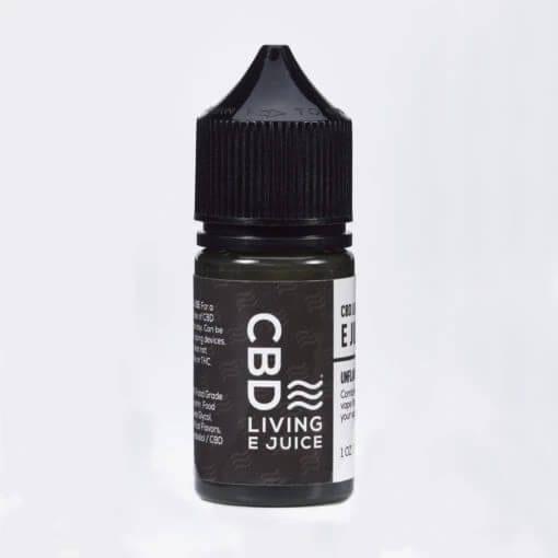 CBD Living E-Juice Unflavored 1000mg