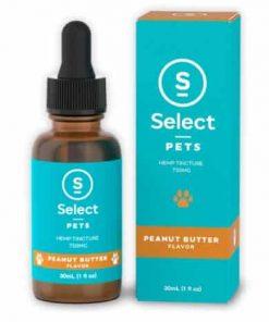 Peanut Butter Flavored Pet CBD-750mg Select CBD Products