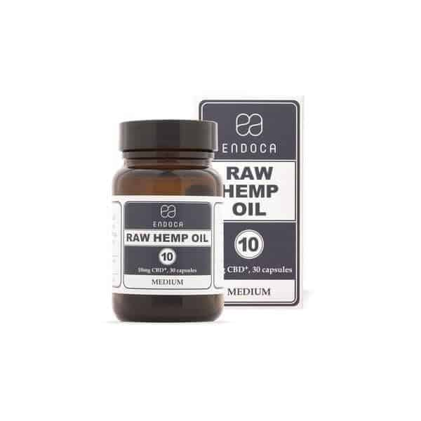 Full Spectrum Raw CBD Oil Capsules 300MG