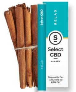 Select CBD Products Relax - Cinnamon CBD Pen