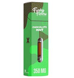 Funky Farms Chocolate MInt Vape Cartridge