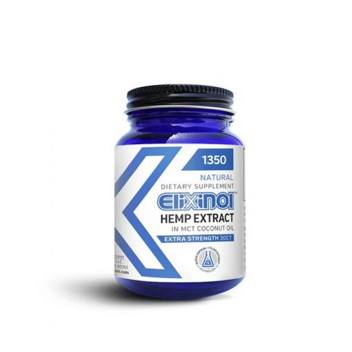 Elixinol 1350mg Capsules