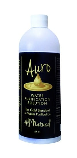 Auro Liquid Gold Water Purification