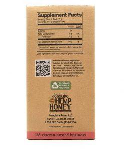 Tangerine Honey Sticks