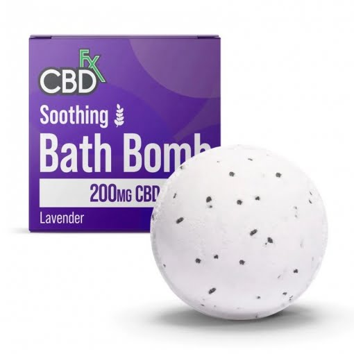 One 100 Mg Eucalyptus 6 Oz CBD Bath Bomb