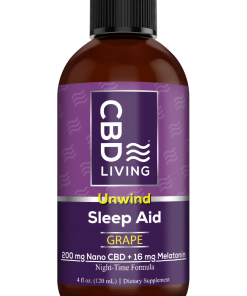 Melatonin Sleep Aid 16 Mg + 200 MG CBD