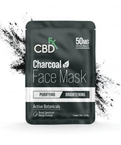 charcoal cbd face mask
