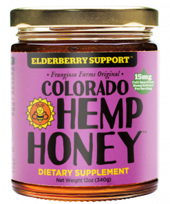 elderberry cbd honey