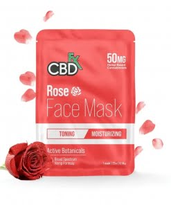 Rose CBD Face Mask