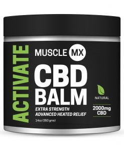 Heated CBD Balm 2000